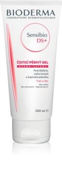 Bioderma Sensibio DS+ Gel Moussant почистващ гел  за чувствителна кожа на лицето