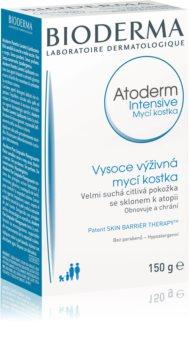 Bioderma Atoderm Intensive savon nettoyant pour peaux sèches à très sèches