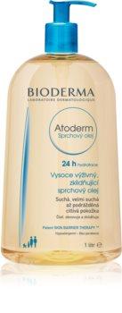 Bioderma Atoderm intensywnie odżywiający i łagodzący olejek pod prysznic do skóry suchej i podrażnionej
