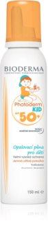 Bioderma Photoderm KID Mousse espuma de proteção solar para crianças SPF 50+