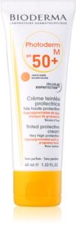 Bioderma Photoderm M creme protetor com cor anti-manchas de pigmentação SPF 50+