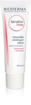 Bioderma Sensibio Forte crema calmanta si hidratanta pentru piele sensibila cu tendinte de inrosire