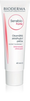 Bioderma Sensibio Forte crema hidratante y calmante para pieles sensibles con tendencia a las rojeces