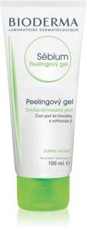 Bioderma Sébium почистващ пилинг за смесена и мазна кожа