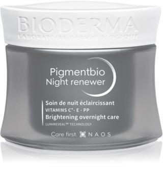 Bioderma Pigmentbio Night Renewer Natserum til at behandle mørke pletter