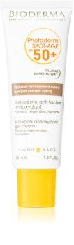 Bioderma Photoderm Spot-Age gel-krema za sunčanje za lice protiv pigmentnih mrlja