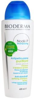 Bioderma Nodé P szampon przeciwłupieżowy do włosów przetłuszczających