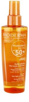 Bioderma Photoderm Bronz suchy olejek do opalania SPF 50+