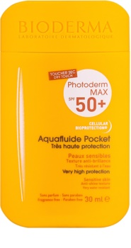 Bioderma Photoderm Max Aquafluid ochranný matující fluid na obličej SPF 50+