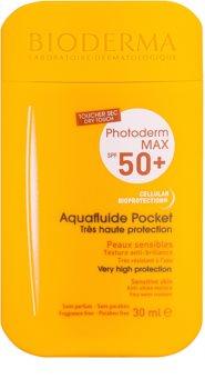 Bioderma Photoderm Max Aquafluid zaščitni matirajoči fluid za obraz SPF 50+