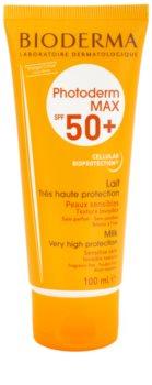 Bioderma Photoderm Max Make-Up mleko za sončenje za netolerantno kožo SPF 50+