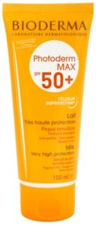 Bioderma Photoderm Max Make-Up mlijeko za sunčanje za netolerantnu kožu SPF 50+