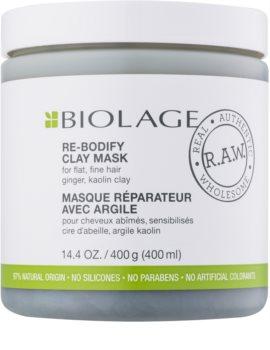 Biolage R.A.W. Uplift jílová maska pro jemné a zplihlé vlasy