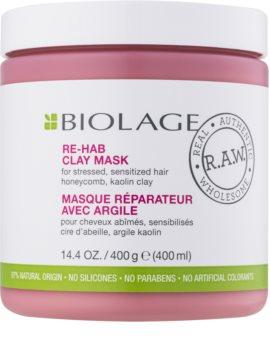 Biolage R.A.W. Recover maseczka z glinki do włosów słabych, zniszczonych