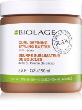 Biolage R.A.W. Styling stylingové maslo pre definíciu vĺn s kakaom