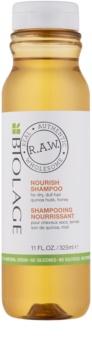 Biolage R.A.W. Nourish champú nutritivo para cabello seco y áspero