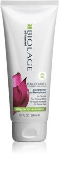 Biolage Advanced FullDensity kondicionáló a haj átmérőjének megerősítésére, azonnali hatással