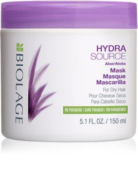 Biolage Essentials HydraSource mascarilla para cabello seco