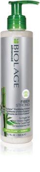 Biolage Advanced FiberStrong cuidado cremoso sem enxaguar  para cabelo fraco e cansado