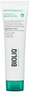 Bioliq Specialist Imperfections детоксикиращ нощен крем с хидратиращ ефект