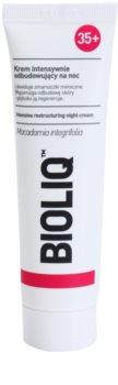 Bioliq 35+ crema regeneradora de noche antiarrugas
