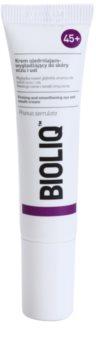 Bioliq 45+ Udglattende creme til dybe rynker omkring øjnene og læberne