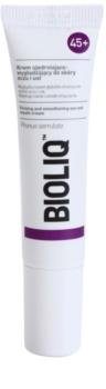 Bioliq 45+ укрепляющий крем для коррекции глубоких морщин вокруг глаз и губ