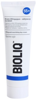 Bioliq 55+ crème nourrissante effet lifting pour une peau remodelée et raffermie
