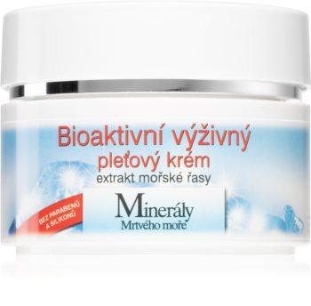 Bione Cosmetics Bio crème nourrissante visage aux minéraux de la mer Morte
