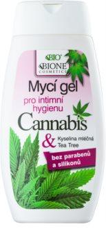 Bione Cosmetics Cannabis Gel för intimhygien