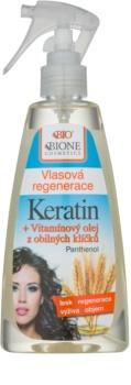 Bione Cosmetics Keratin Grain tratament pentru îngrijirea părului fără clătire Spray