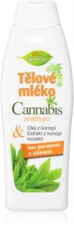 Bione Cosmetics Cannabis hydratačné telové mlieko