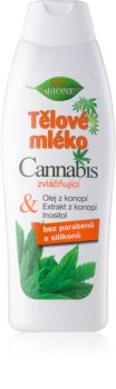 Bione Cosmetics Cannabis hydratační tělové mléko