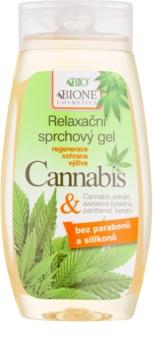 Bione Cosmetics Cannabis umirujući gel za tuširanje