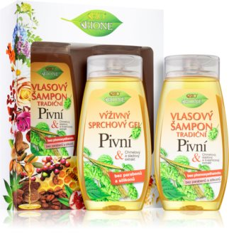 Bione Cosmetics Pivní Gavesæt  (til badet)