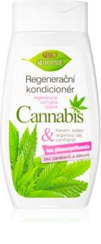 Bione Cosmetics Cannabis après-shampoing régénérant