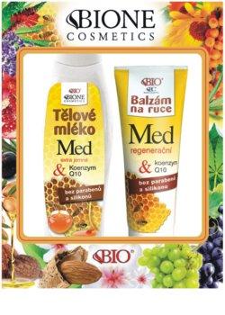 Bione Cosmetics Honey + Q10 lote cosmético I.