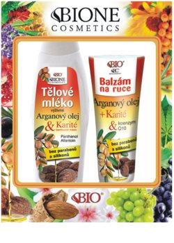 Bione Cosmetics Argan Oil + Karité lote cosmético I.