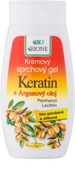 Bione Cosmetics Argan Oil + Karité τζελ για ντους με έλαιο αργκάν