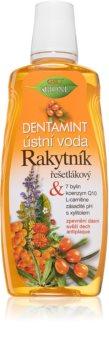Bione Cosmetics Rakytník bain de bouche anti-plaque dentaire pour des gencives saines
