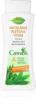 Bione Cosmetics Cannabis Apa micela cu efect de curatare si indepartare a machiajului