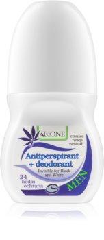 Bione Cosmetics Cannabis Antiperspirant Roll-On til mænd