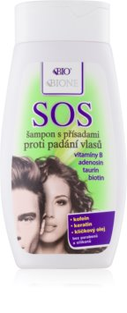 Bione Cosmetics SOS șampon împotriva subțierii și căderii părului