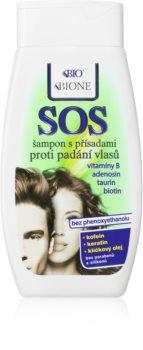 Bione Cosmetics SOS Shampoo gegen Haarausfall und schütteres Haar