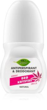 Bione Cosmetics Cannabis дезодорант roll-on с аромат на рози