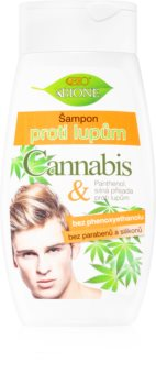 Bione Cosmetics Cannabis shampoing antipelliculaire pour homme