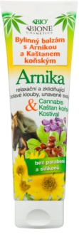 Bione Cosmetics Cannabis kruidenbalsem met arnica en paardenkastanje