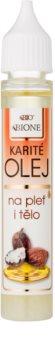 Bione Cosmetics Face and Body Oil óleo de karité para rosto e corpo