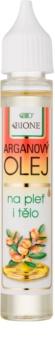 Bione Cosmetics Face and Body Oil óleo de argão para rosto e corpo