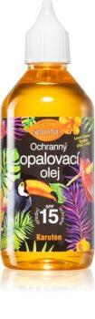 Bione Cosmetics Bio Sun слънцезащитно олио за лице и тяло със средна UV защита